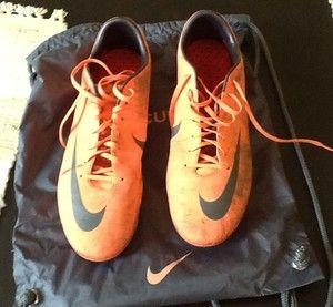 Nike Mercurial Vapor VIII FG 10 5 Soccer Shoes Bright Mango Adizero