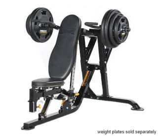 POWERTEC Leverage Multi Press Bench Press with Safety Home Gym