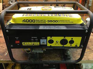 Champion Power Equipment 46515 4000 Watt 6 5 HP Generator