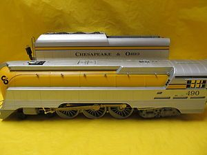 Lionel 18043 Chesapeake Ohio Semi Streamline Hudson LN Beauty