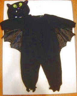 Childrens Place Size Plush 2pc Bat 18m 24m Costume Dress Up