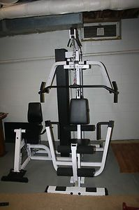 Solid EXM2000S Home Gym plus Smith Machine Leg Press and 2 benches