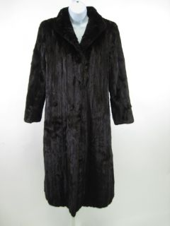 Vintage Jay Chester Brown Mink Full Length Jacket Coat