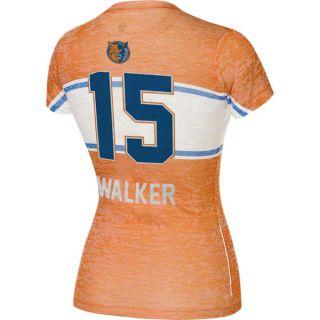 Kemba Walker Charlotte Bobcats Womens Big Stripe Player T Shirt Home