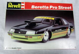 Model Kit 1 25 Scale 1989 Chevrolet Beretta Pro Street Car 7168