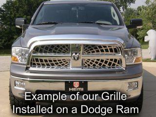 Chevy Blazer 98 04 Chrome Billet Grille Insert Stainless Steel Trim