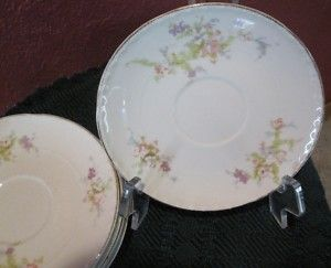 Crooksville China Saucer Spring Blossom Pattern