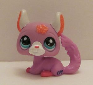 Littlest Pet Shop LPS Rasberry Chinchilla Sparkle 2116 New Loose VHTF