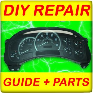 Chevrolet Suburban Instrument Cluster Speedometer DIY Guide Parts