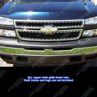 06 Chevy Silverado 1500 05 06 2500 3500 Rivet Stainless Steel Mesh
