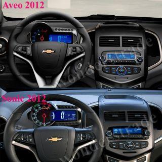 GPS Navigation for Chevrolet Aveo Sonic 2011 2012 3G Internet