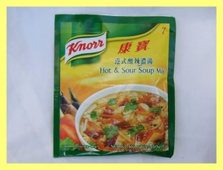 Knorr Chinese Hot Sour Soup Mix USA Seller