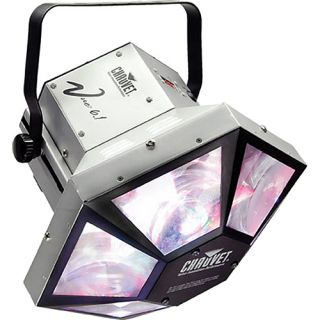 Chauvet Vue 6.1 DMX Rotating LED Moonflower Effect DJ Light, Sound