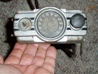 1938 Chevrolet Automobile Factory Radio 1937 Chevy