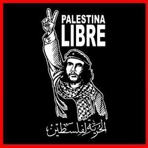 Palestine Freedom Palestina Libre Che Guevara T Shirt