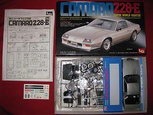 Vinage 1982 Chevy Camaro Z28 E Ho Rod Ba Op Model Car Ki 1 24 LS