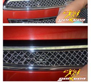 08 09 10 11 12 Chevy Chevrolet Cruze Radiator Hood Grill Chrome 2P