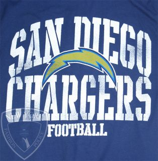 SAN DIEGO CHARGERS T SHIRT PHILIP RIVERS NFL LOGO FOOTBALL TEE L