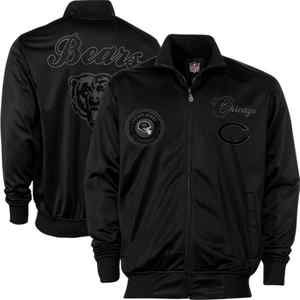 Chicago Bears NFL Pitch Black Jacket New Various Sizes Available