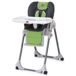 Chicco 2010 Polly High Chair in Midori Pattern New