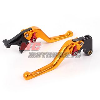 3D Feel Gold Short Brake Levers Triumph TIGER 800 XC 11 12