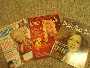 Chely Wright Dolly Parton Country Music Magazines Lot VERY NICE