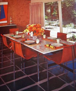 Vintage Mid Century Modern Interior Decorating Dorothy Draper Eames