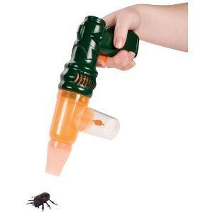 Activated Bug Vacuum Catcher Pest Control Insect Gun Kids Science NEW