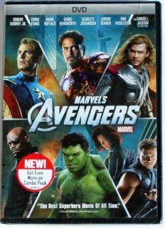 Disney Movie MARVELS AVENGERS DVD Marvels Avengers NEW + Mickey Gift