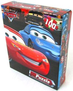 DISNEY CARS PUZZLE Jigsaw for kids children 100 pieces NEW IN BOX