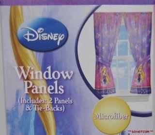TANGLED PRINCESS RAPUNZEL WINDOW CURTAINS PANELS DRAPES KIDS ROOM