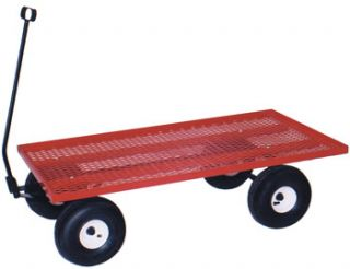 Road Speeder Farm Garden Childrens Kids Red Wagon 24X48