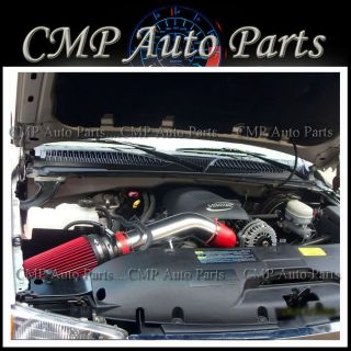 Chevy Tahoe Avalanche 1500 2500 4 8L 5 3L 6 0L Air Intake Kit Systems