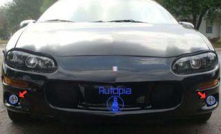98 02 Chevy Camaro LS1 Driving Fog Lights Lamp 99 00 01 GN Kit Pair