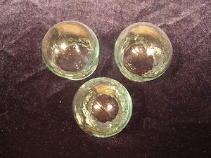 Set Of 3x glass cups for chinese massage or cupping therapy +Gift