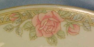 Crown Ming Christina Porcelain Dinner Plate Pink Roses