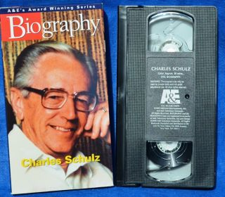 Biography Series Charles Schultz   Peanuts, Snoopy, Charlie