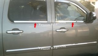 2010 2011 2012 Chevy Avalanche Suburban Window Sill Trim