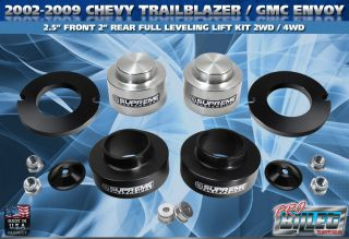 Chevy Trailblazer Envoy 2 5 Front 2 Rear Leveling Lift Kit 2 1 2 2WD