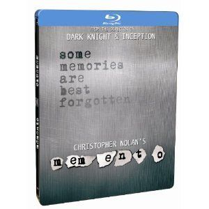 Memento Steelbook Blu Ray Christopher Nolan Guy Pearce Drama Movie New
