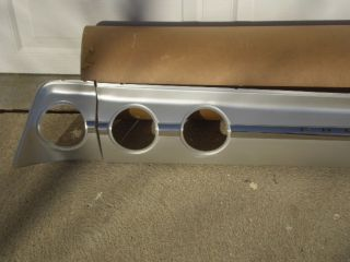 New 1962 Chevrolet Chevy Impala Chrome Rear Trunk Panel Molding Nice