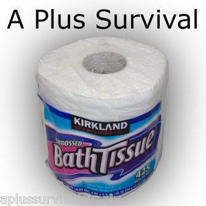 Large Roll 2 Ply Kirkland Signature Toilet Paper