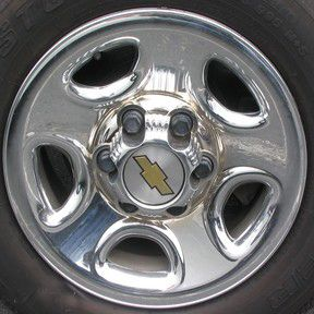 16 Chevy Silverado 1999 2006 Chrome Wheel Skins Covers