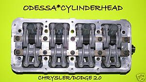 Chrysler Dodge Neon Stratus 2 0 SOHC Cylinder Head 16V