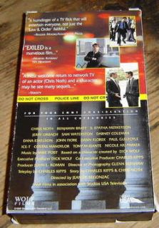 Exiled A Law Order Movie Chris Noth VHS Video