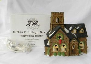 DEPARTMENT 56 DICKENS VILLAGE KNOTTINGHILL CHURCH