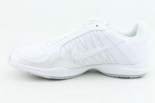 Nike Air Essential Cheer Womens SZ 8 White Cheerleading Shoes
