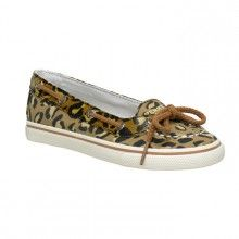 Sperry Girls Carline Leopard Print Size 12 5 5 YG42836