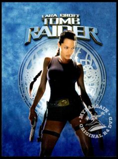 Lara Croft Tomb Raider Collection 1+2NEW Boxset 2 DVD