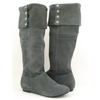 Chinese Laundry Tripin Womens Sz 8 Gray Grey Boots Over The Knee Shoes